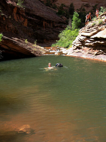 Trip Report Moab Swimming Hole