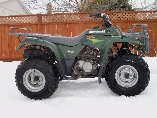 For Sale 2000 Kawasaki 220 Bayou ATV- SOLD
