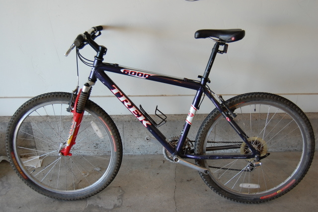 Trek 6000 Mountain Bike 2008 http://www.pic2fly.com/1999-Trek-6000-Mountain-Bicycle.html