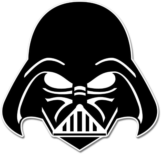 Darth Vader Mask Coloring Pages