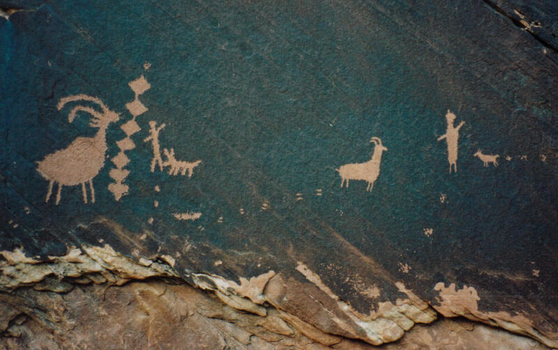 rock art san rafael swell ut