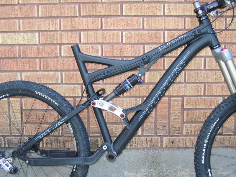 For Sale Titus El Guapo frame and Fox 36 Talas for sale