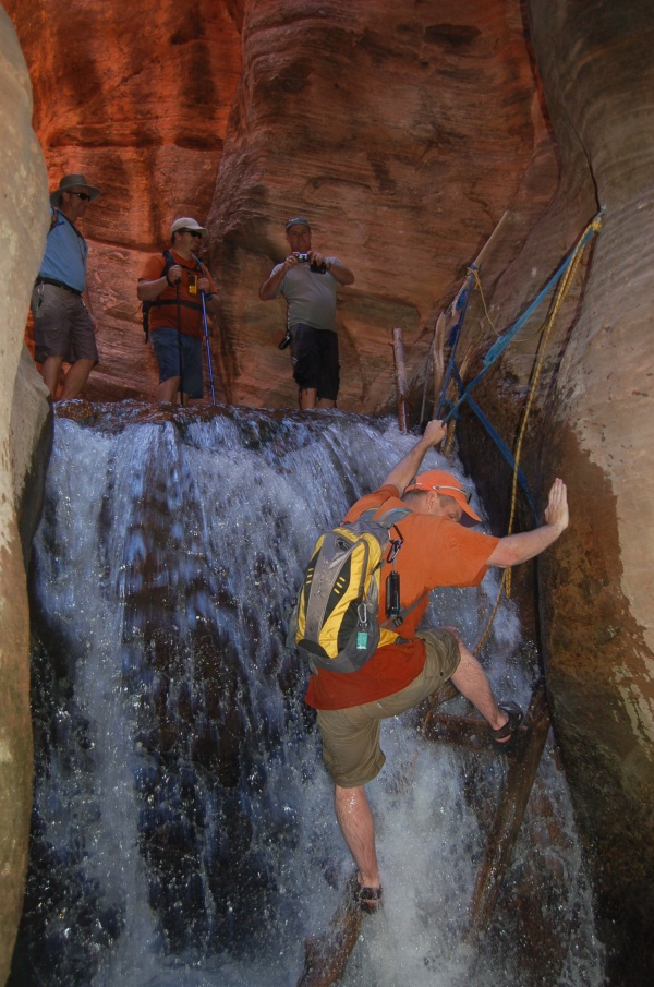 Trip Report GC12TXQ Kanarraville Falls (Slot Canyon)