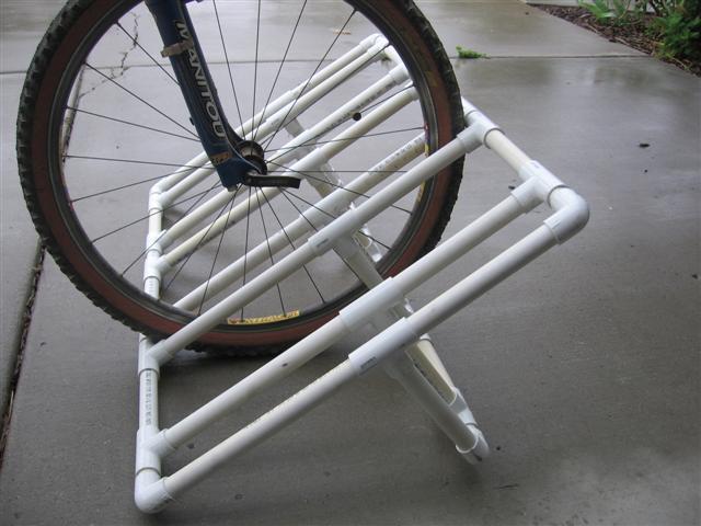 How To Old Pvc Bike Rack