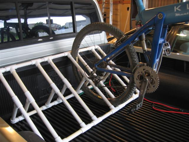 How To Old Pvc Bike Rack