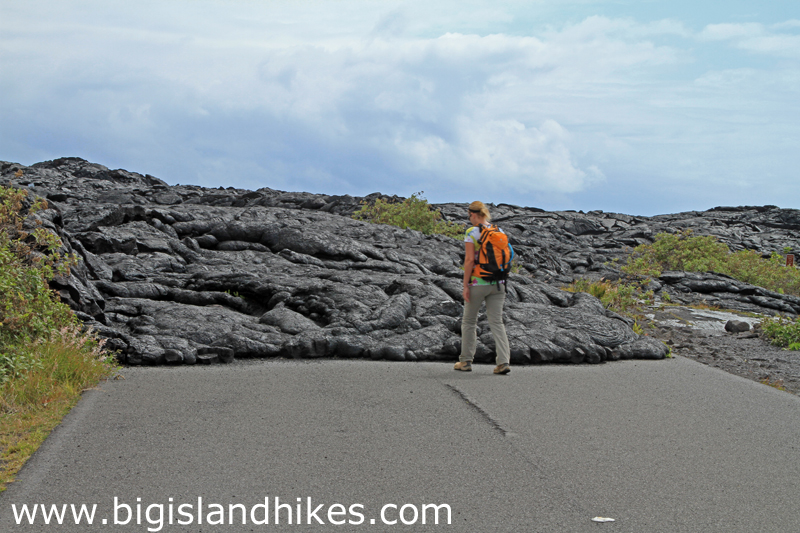 Hike To Flowing Lava On The Big Island Of Hawaii