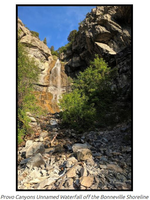 Name:  Unnamed_Waterfall_Provo_Canyon_off_Bonneville_Shoreline_trail.JPG